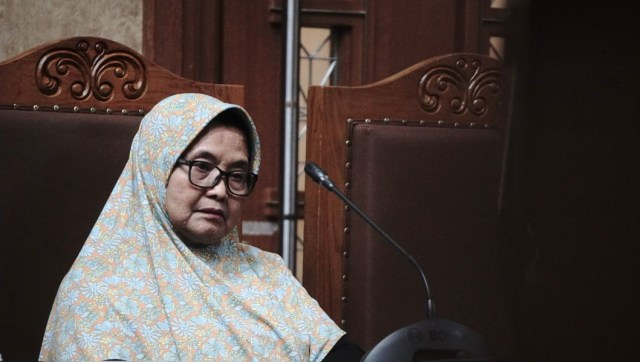 MA Tolak PK Mantan Menkes Siti Fadilah (8636)
