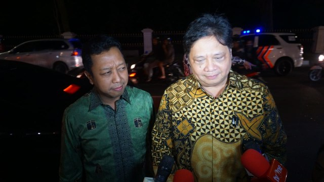 Ketum Parpol Pendukung Jokowi Tinggalkan Istana Bogor