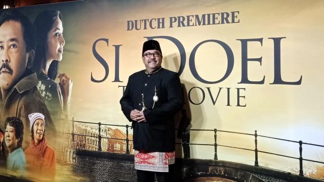 Rano Karno Kenang Benyamin Sueb di Gala Premiere 'Si Doel' di Belanda (10896)