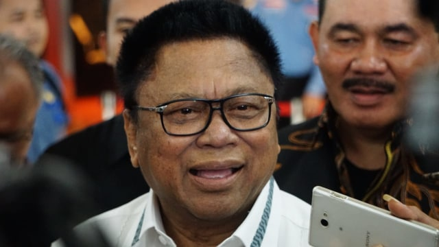 Ketua umum Hanura Oesman Sapta Odang.