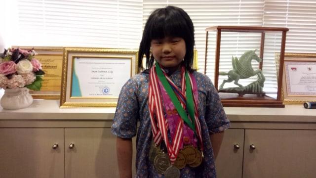 Samantha Edithso, Juara Dunia Catur U-10