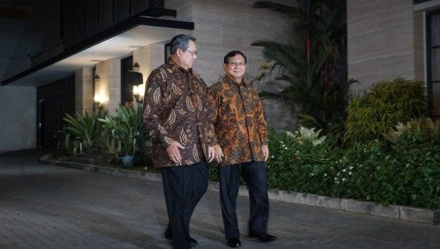Pertemuan SBY dan Prabowo Subianto