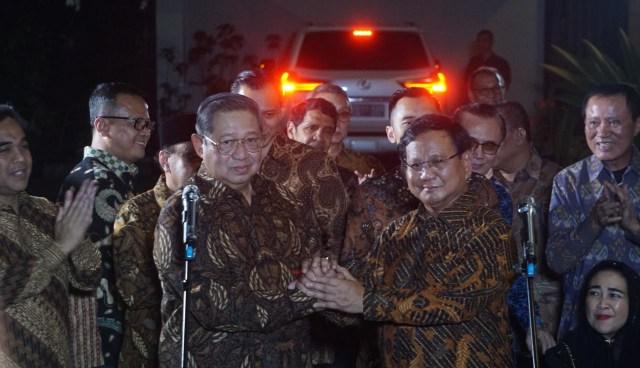 SBY, Prabowo Subianto, Mega Kuningan