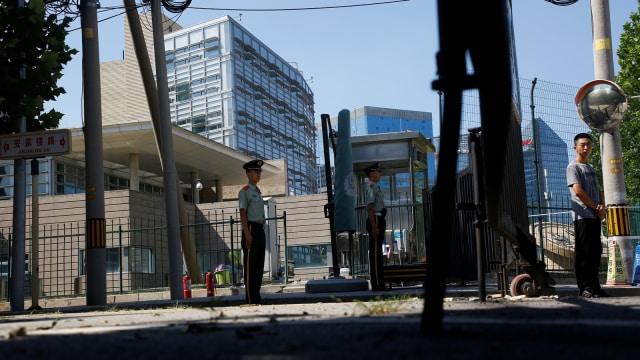 Kedubes AS di China Dibom (815678)