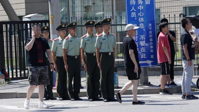 Kedubes AS di China Dibom (815680)