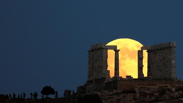 Gerhana Bulan di Yunani