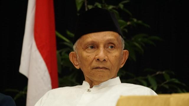 Amien Rais Protes KPU yang Tolak Revisi Visi Misi Prabowo-Sandi (285049)