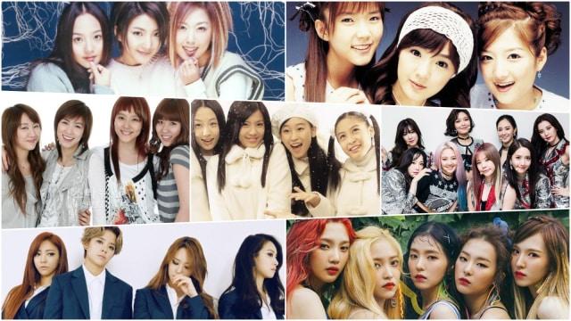 Kpopedia 7 Girlband Debutan Sm Entertainment Kumparan Com