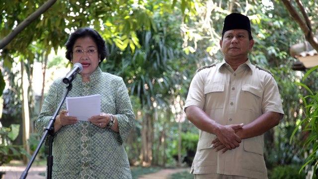 Momen Kemesraan Politik Megawati - Prabowo  (56669)