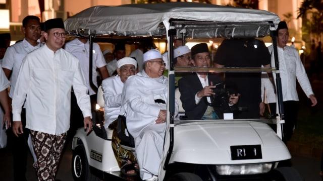 Zikir Kebangsaan 2018 , Jokowi , Istana Merdeka