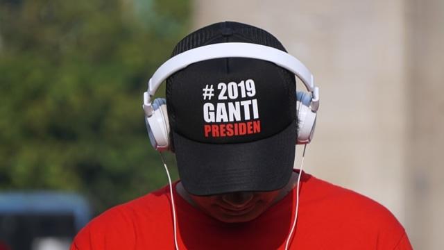 FOTO KHUSUS LIPSUS, Gerakan #2019GantiPresiden, Ilustrasi: 2019 Ganti Presiden