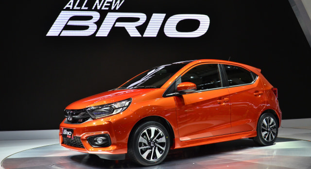 All New Brio dan HR-V Facelift Jadi Bintang Honda di GIIAS 2018 (14118)