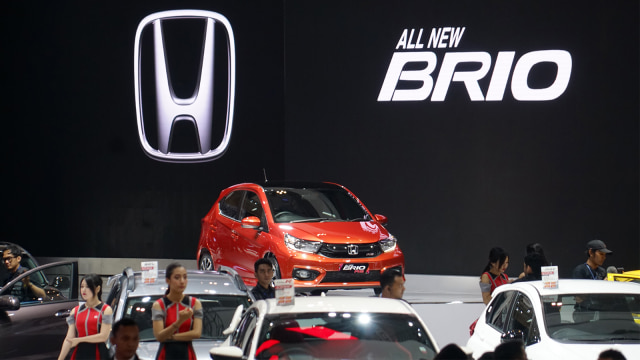 All New Brio dan HR-V Facelift Jadi Bintang Honda di GIIAS 2018 (14115)