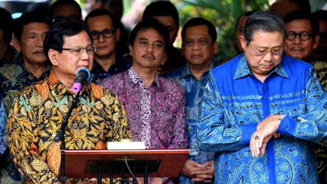 Lipsus, Duel Kedua Jokowi-Prabowo, Partai Demokrat, Agus Harimurti Yudhoyono (AHY)