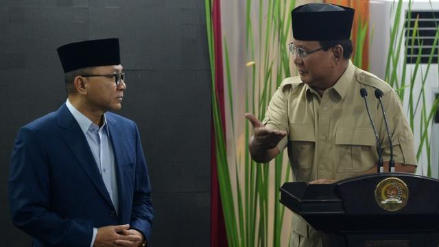 Lipsus, Prabowo Tersandera, Partai Gerindra Prabowo Subianto, Zulkifli Hasan