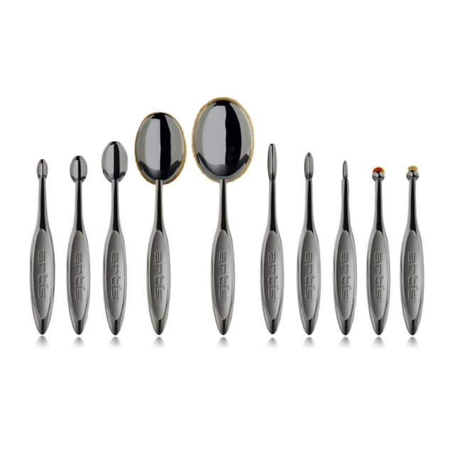 Artis Brush Elite Collection Smoke Finish 10 Brush Set