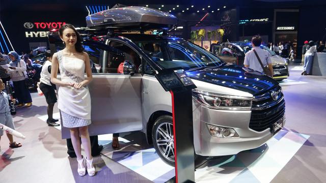 Mobil Toyota New Inova, GIIAS 2018, Otomotif