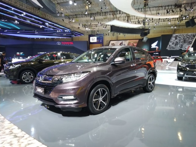 All New Brio dan HR-V Facelift Jadi Bintang Honda di GIIAS 2018 (14119)