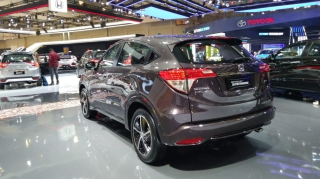 All New Brio dan HR-V Facelift Jadi Bintang Honda di GIIAS 2018 (14120)