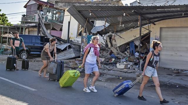 Gempa Lombok, Korban