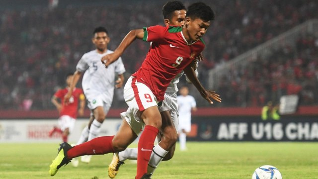 Timnas U-16 vs Timor Leste