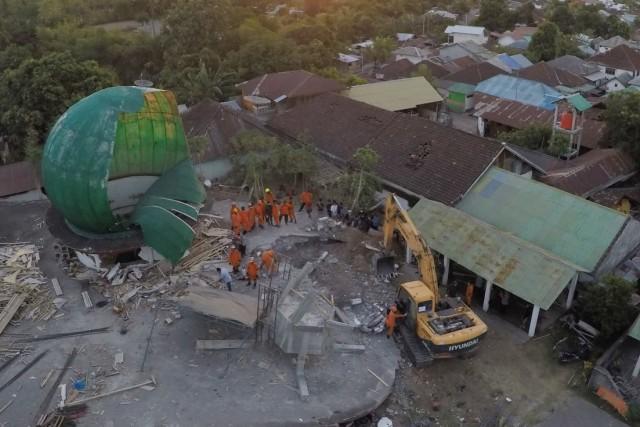 Tim Gabungan Sar, Evakuasi Korban Gempa, Lombok Utara, Kecamatan Tanjung