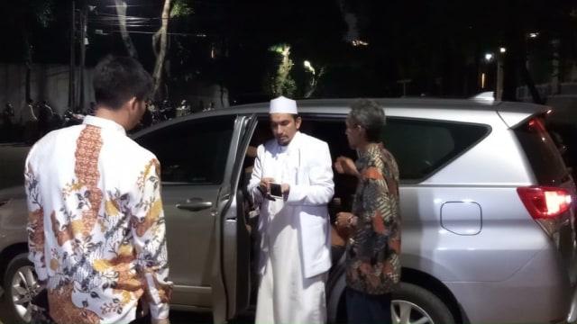 Ketum FPI Sobri Lubis sambangi rumah Ketum Gerindra Prabowo Subianto