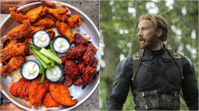 Makanan dan Minuman Favorit Ala Superhero The Avengers  (13732)