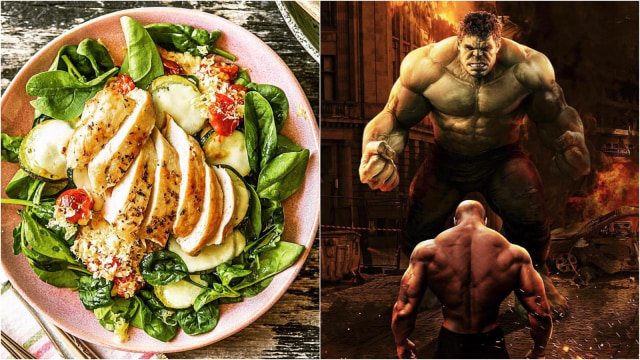 Makanan dan Minuman Favorit Ala Superhero The Avengers  (13734)