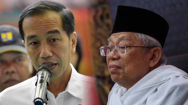 7 Momen Kedekatan Jokowi dan Ma'ruf Amin (390266)