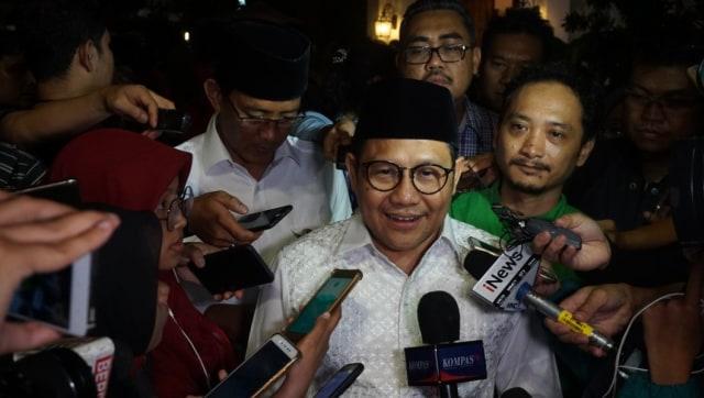 Cak Imin usai pengumuman deklarasi, Kafe Plataran Menteng