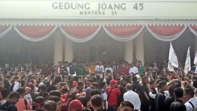 Suasana di Gedung Joang 45