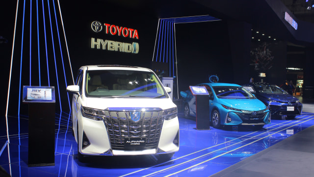 Zona Kendaraan Listrik Toyota di GIIAS 2018