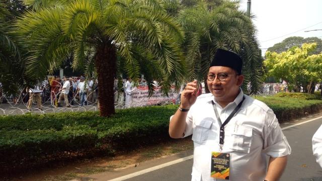 Waketum Gerindra,Fadli Zon, KPU Jakarta