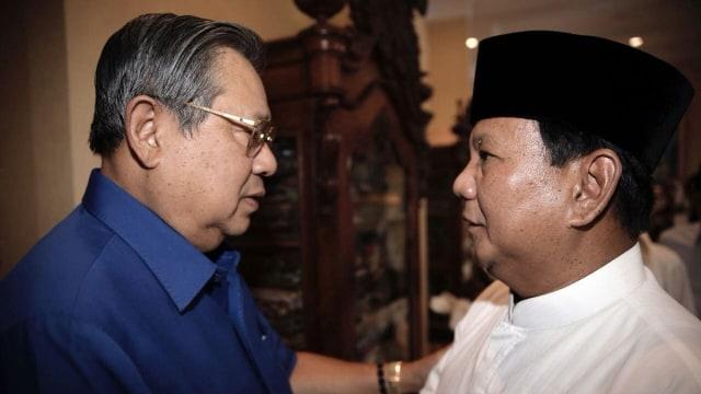 Lipsus, Demokrat, SBY, Prabowo, Pilpres 2019