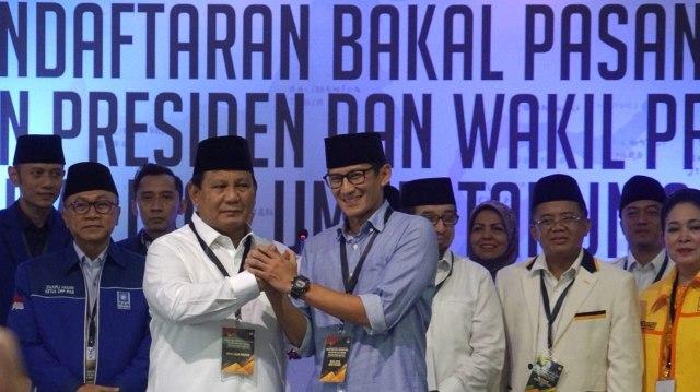 Lipsus, Duel Kedua Jokowi-Prabowo, Prabowo dan Sandi ,Gedung KPU