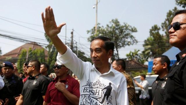 Lipsus, Perang Ludah Jokowi vs Prabowo, Joko Widodo, Gedung KPU