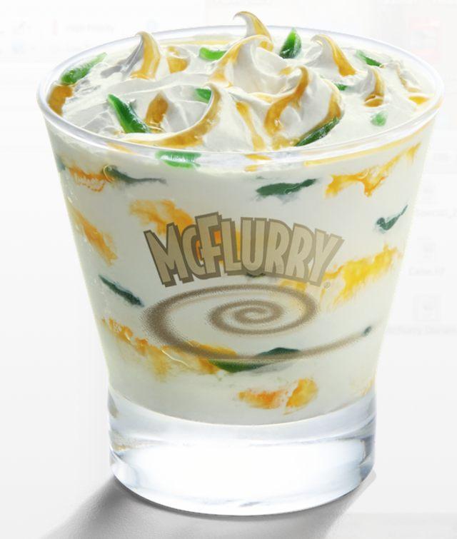McFlurry Durian Cendol