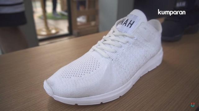 Kisah NAH Project, Sepatu asal Bandung
