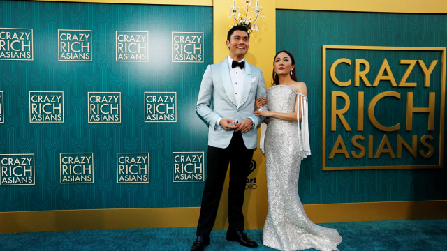 Constance Wu di Premiere Crazy Rich Asians