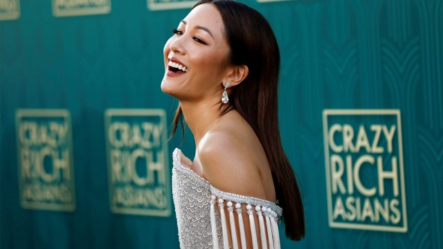 Constance Wu di Premiere Crazy Rich Asians