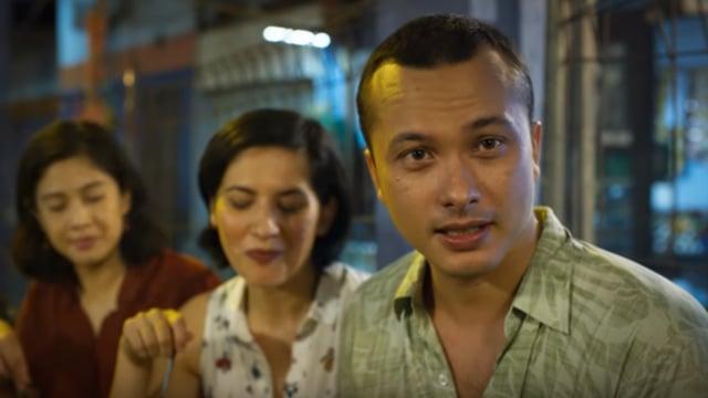 Nicholas Saputra di Film 'Aruna & Lidahnya'