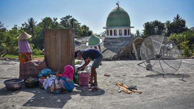 gempa bumi, lombok, korban gempa