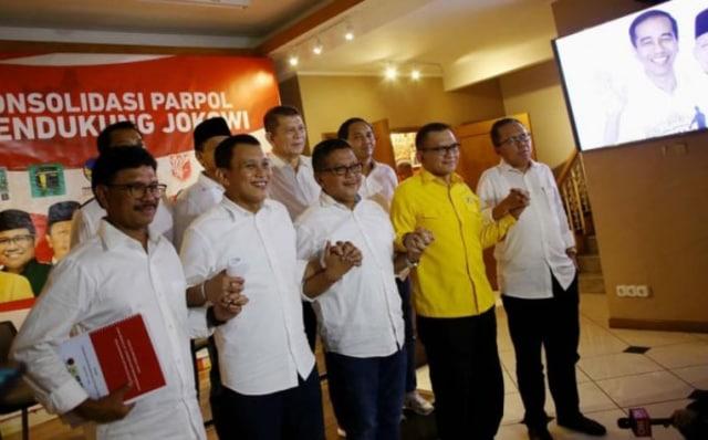 Partai Koalisi Isi 11 Direktur Pemenangan Jokowi-Ma'ruf Amin (1601)