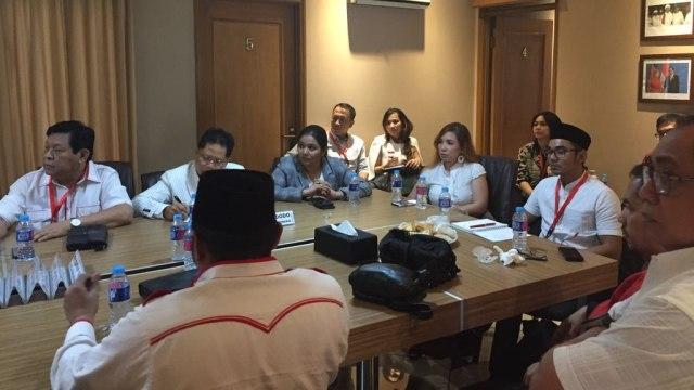Ruhut Sitompul hingga Sunan Kalijaga Ikut Workshop Jubir Jokowi-Ma'ruf (44480)