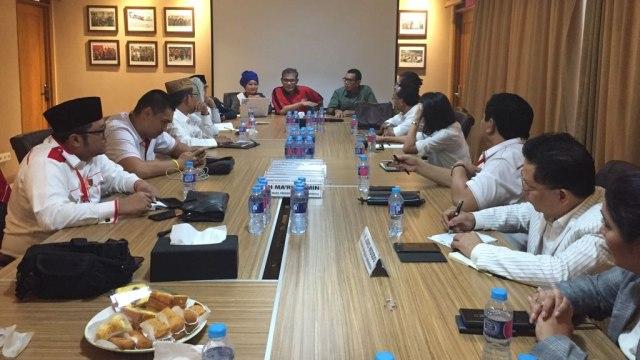 Ruhut Sitompul hingga Sunan Kalijaga Ikut Workshop Jubir Jokowi-Ma'ruf (44477)