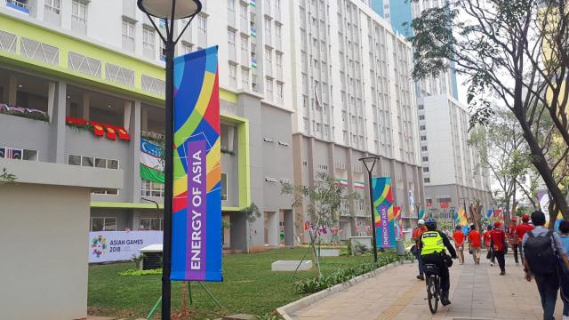Asian Games resmi dibuka, 18 Agustus, Wisma Atlet Kemayoran, kontingen