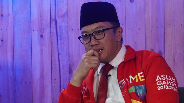 Menteri Pemuda dan Olahraga, Imam Nahrawi, Minister Live! Series