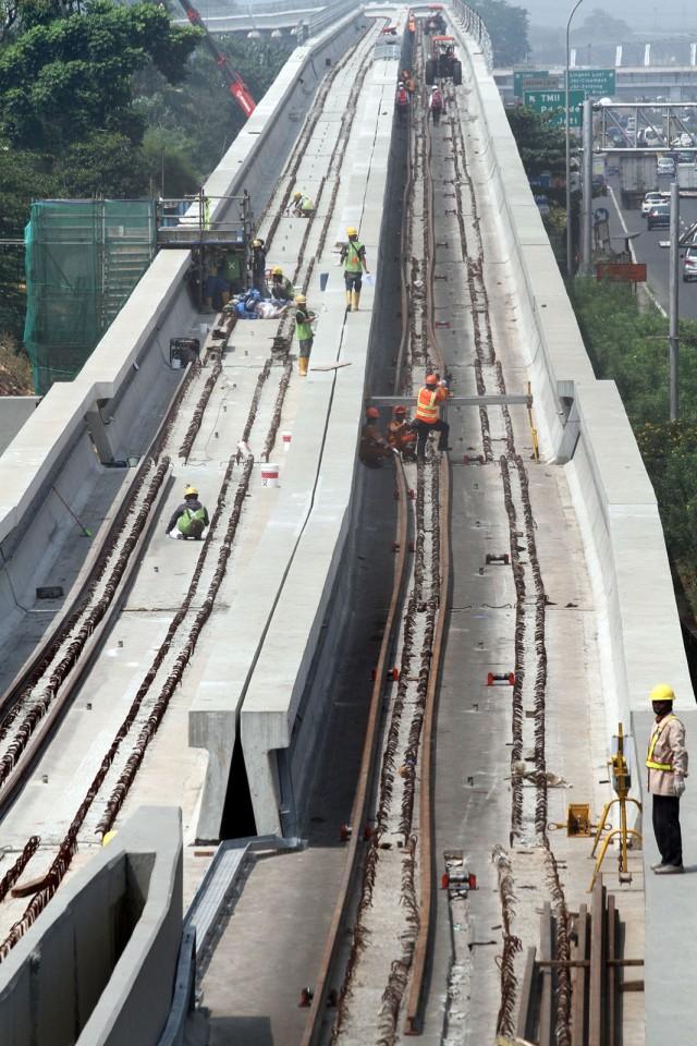 proyek pembangunan Light Rail Transit, LRT