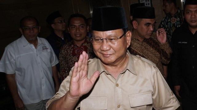 Prabowo, Sandiaga Uno, PBNU